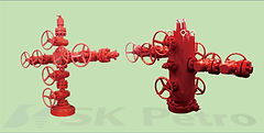 SK Petro, Well Head, Christmas Tree, Conventional Type, Tubing Type