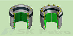 SK Petro, Well Head, Valve, Casing Hanger