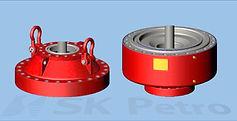 SK Petro, Well Control, Blowout Preventer, BOP Parts, Bonnet, Adapter