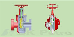 SK Petro, Well Head, Gate Valve