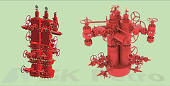 SK Petro, Well Head, Christmas Tree, Two-in-one, Triple-in-one Type