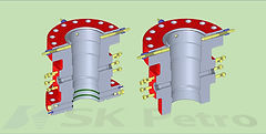 SK Petro, Well Head, Valve, Casing Head, Spool