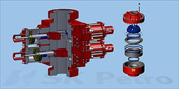 SK Petro, Well Control, Blowout Preventer, BOP Parts