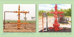 SK Petro, Well Head, Christmas Tree, Electric Pump, Integral Type