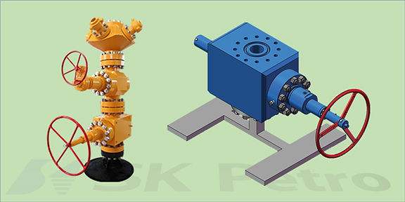 SK Petro, Well Head, Fracturing Valve