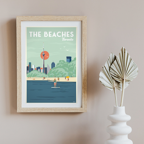 THE BEACHES POSTER