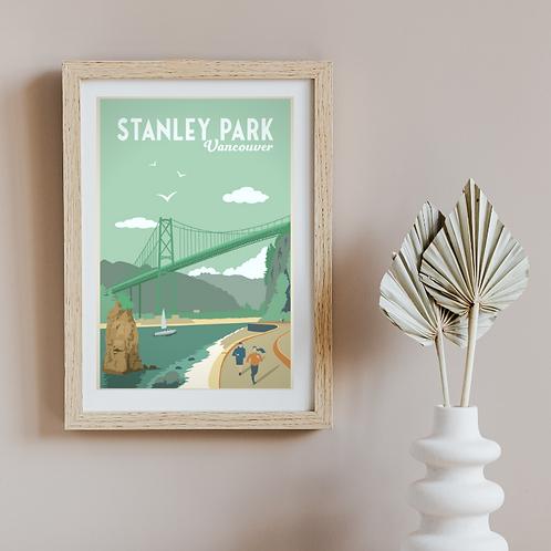 STANLEY PARK POSTER