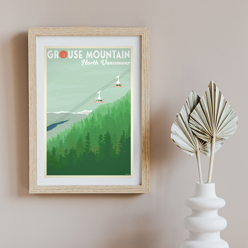 GROUSE MOUNTAIN POSTER