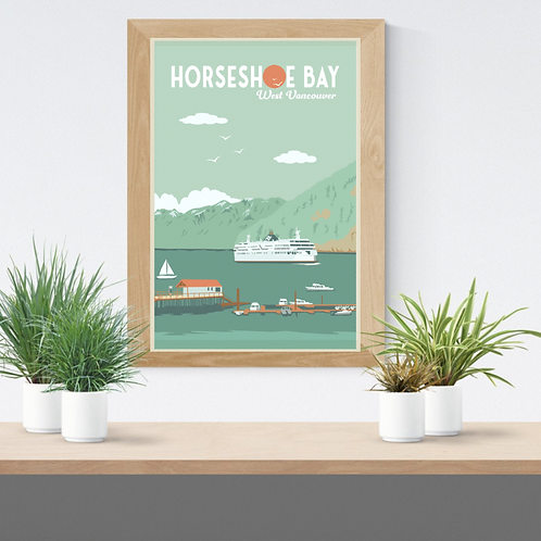 HORSESHOE BAY POSTER