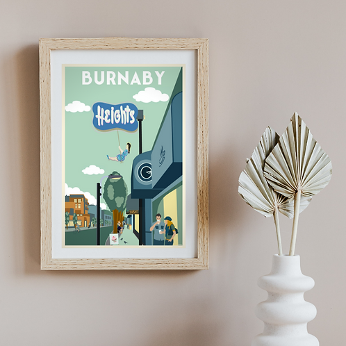 BURNABY HEIGHTS POSTER