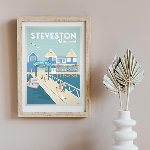 STEVESTON POSTER