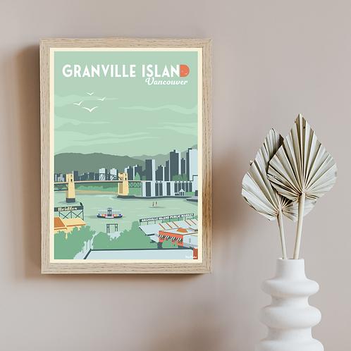 GRANVILLE ISLAND POSTER