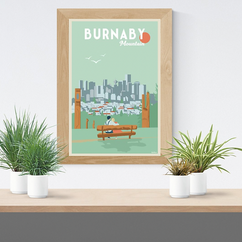 BURNABY MOUNTAIN POSTER