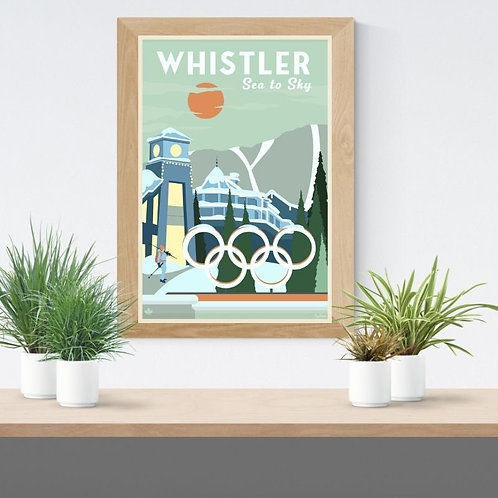 WHISTLER POSTER - LORD OF THE RINGS