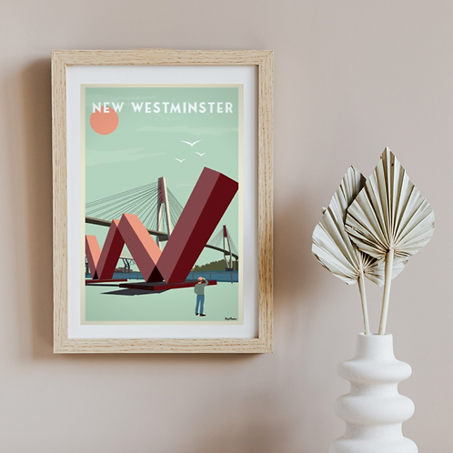 NEW WESTMINSTER POSTER
