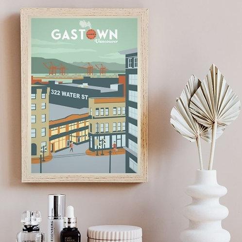 GASTOWN POSTER - Water street edition