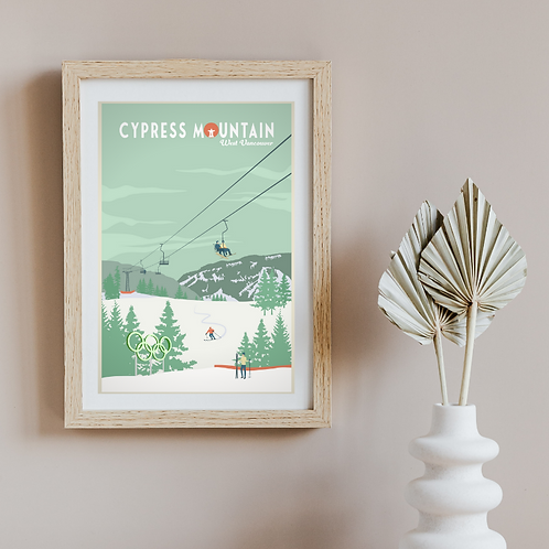 CYPRESS MOUNTAIN POSTER