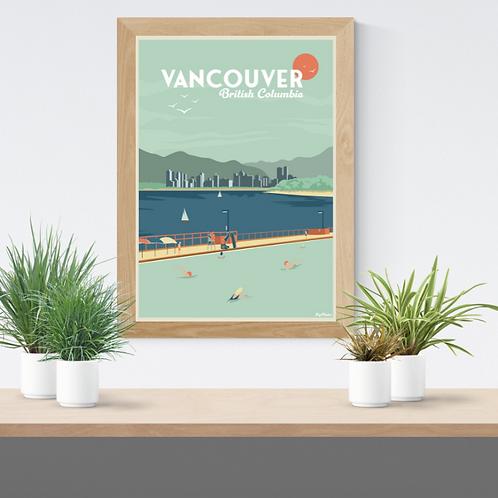 VANCOUVER POSTER (Kitsilano poster reedition)