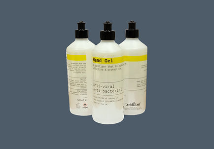 Antibacterial hand gel sanitiser Teklube
