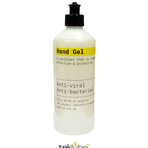 500ml Antibacterial Hand Sanitiser Gel | 70% Alcohol