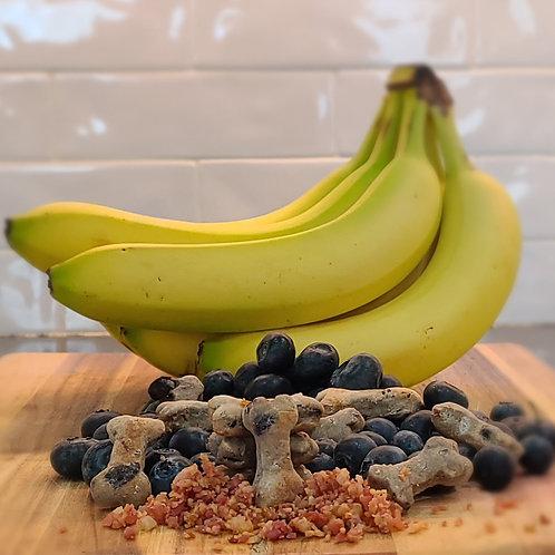 Blueberry, Banana, & Bacon Mini Bites