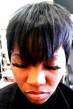 Color, Cut & Blow Out & Lashes