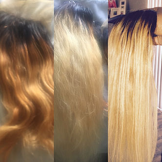 Highlight & Toned Hair Extension