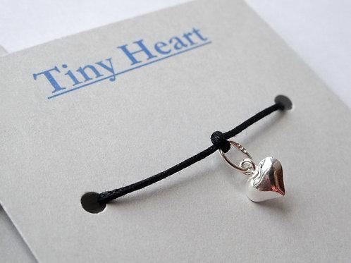 Tiny Heart Bracelet - Sterling Silver