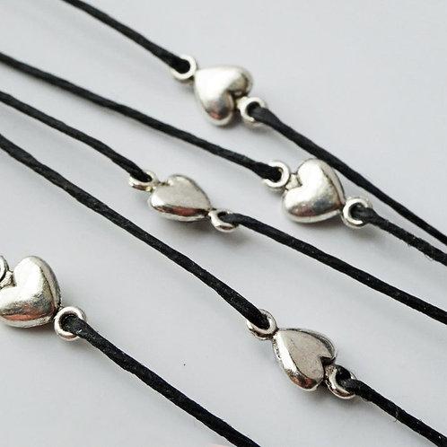 Make a wish bracelet (s) - Sets Hearts