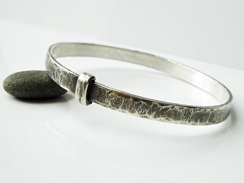 Blacksmith Sporran Key Bracelet - Solid Sterling