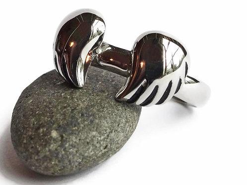 Wings Ring - Stainless Steel