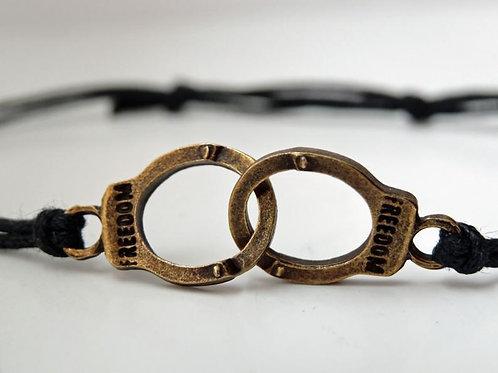 Handcuffs bracelet - adjustable