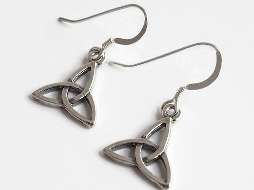 Trinity Knot Earrings and or Necklace Set