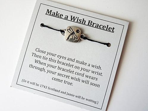 Dragonfly - Make a wish bracelet