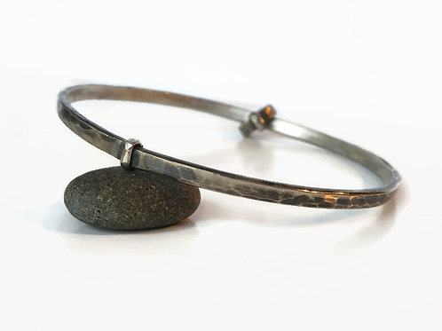 Sporran Key Bangle & Ring - Solid Sterling - One of a kind
