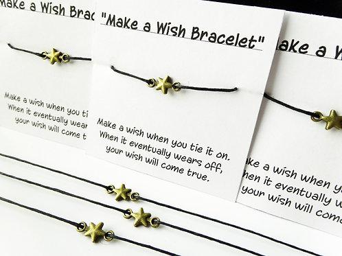 Star Wish Bracelets - Set of 10
