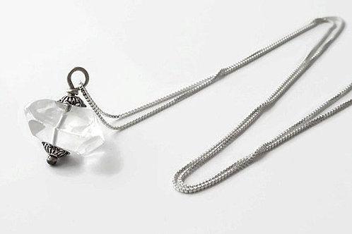 Standing stone Quartz necklace