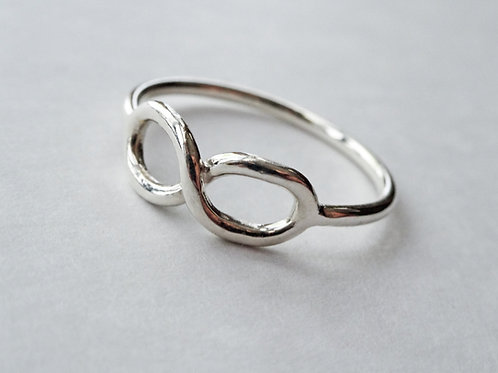 Infinity Ring - Solid Sterling