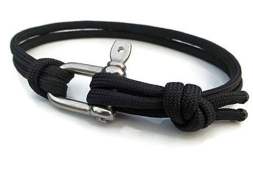 D Bolt Bracelet - a.k.a Bow Shackle or Clevis Bolt