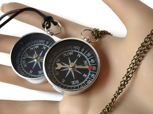 Working Compass Necklace - your choice
