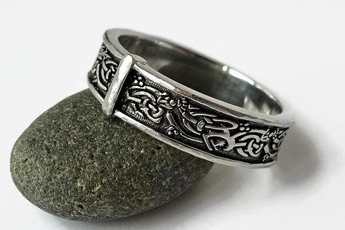 Celtic Interlace Knot Band