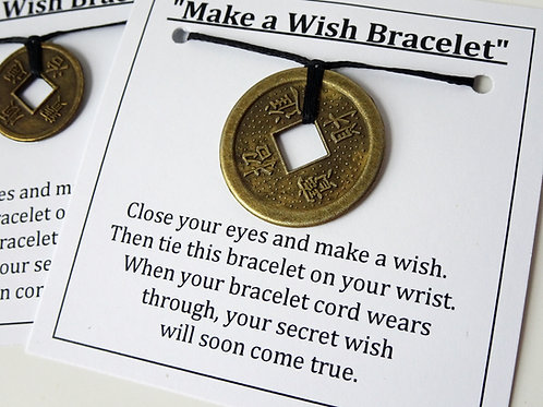 Coin Bracelet Set - Make a wish