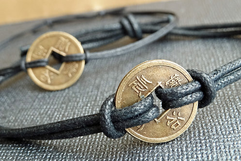 Set - Lucky Coin Bracelet