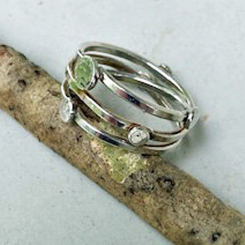 Multi band wrap ring