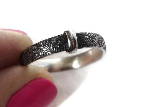 Feathers and Ferns ring