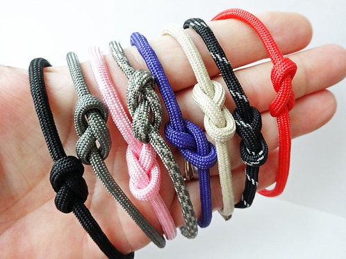 Set - Infinity Knot paracord - Adjustable