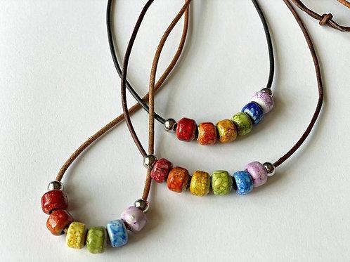 Fiesta Rainbow Necklace