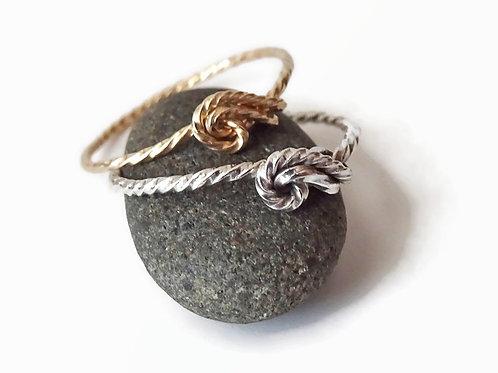 Sea Shell ring - Sterling or 14ktgf