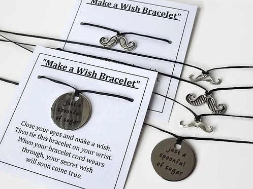 """Make a Wish Bracelet - Mary Poppins """"just a spoonful of sugar"""""""
