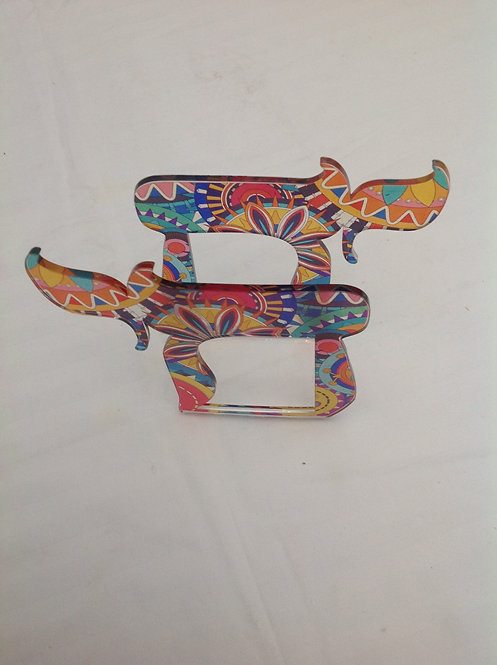 Porta guardanapos Chai colorido